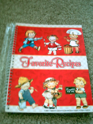 Campbells Kids Favorite Recipes Spiral Recipe Storage Book Advertsing Promo 1998