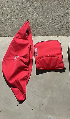 Bugaboo Cameleon 2 Red Fabric Set
