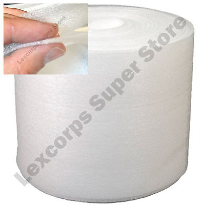 "FOAM Protection WRAP 150 350 500 700 ft Roll easy Perforated 12"" ALL SIZES"