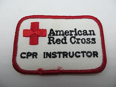 American Red Cross CPR Instructor Embroidered Patch