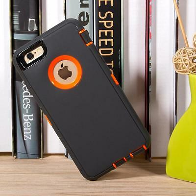 For iPhone 8+/8 7/6 Waterproof Shockproof Dirt Proof Hard Phone Case Cover