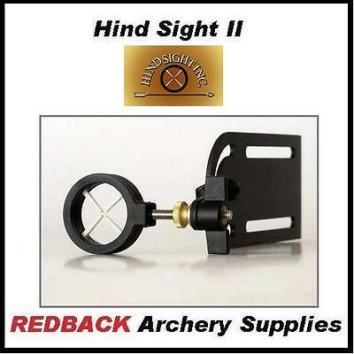 Hind Sight II rear sight for compound bow archery hunting