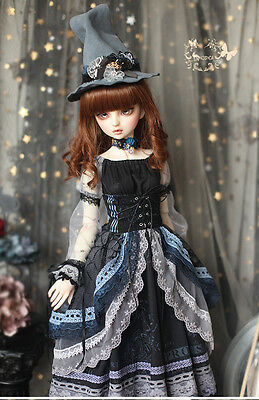 +Mosica+ LIMITED Blue Witch skirt set STOCK bjd SD 1/3 girl doll use