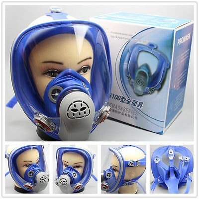 For 3M 6800 Silicone Gas Mask Full Face Facepiece Respirator Paint Spraying
