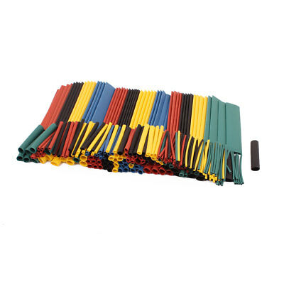 328 Pcs Heat Shrink Wire Cable Tubing Tube Sleeving Wrap Assorted Sizes Kit