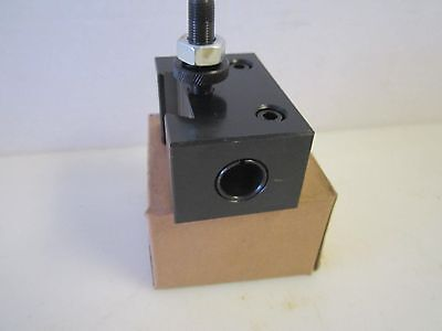 Series 100 AXA Quick Change Number 4 Boring Bar Tool Post Holder 250-104 New