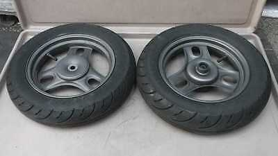 HONDA AF59 Bite Wheel Tire Set