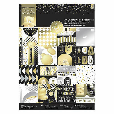 A4 Ultimate Paper & Die Cut Pack - Forever Friends Classic Decadence Collection