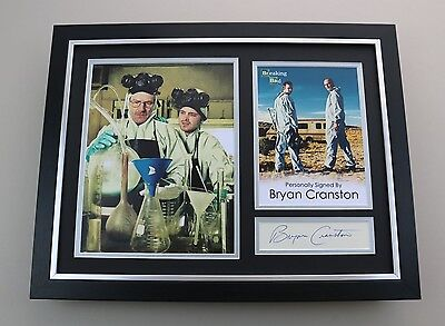 Bryan Cranston Signed Photo Framed 16x12 Breaking Bad Autograph Display COA