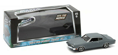 1970 Chevrolet Chevelle SS Dom Fast & Furious 1:43 GreenLight 86227 Chevy and