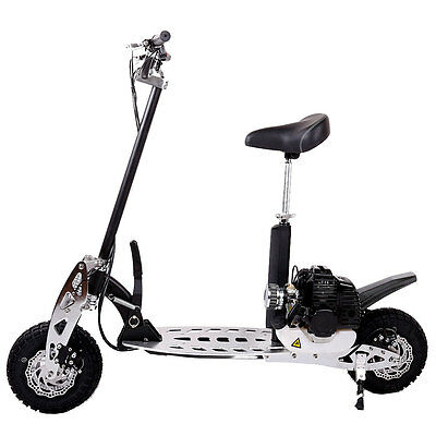 Benzin Scooter 49ccm 2-takt Motor Powerboard B-Scooter Modell-4 55km/h 1344