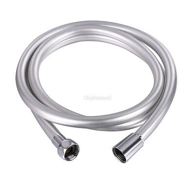 "Ancheer New Shower Hose Chrome Conical 1/2"" 2M 78.6Inch Stainless Steel"