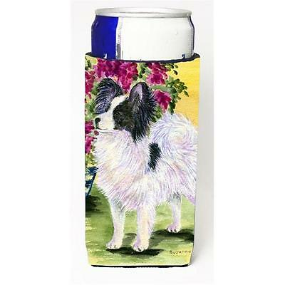 Carolines Treasures Papillon Michelob Ultra bottle sleeves For Slim Cans 12 oz.
