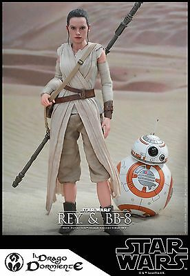Hot Toys - Star Wars Rey & BB-8 - 1:6 scale figure