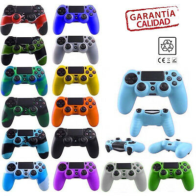Funda Carcasa Silicona Compatible Mando Sony Ps4 Dualshock 4 Playstation 4 Slim