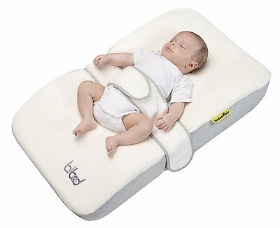 Babymoov Bibed - The best position for baby sleep - Smokey Grey