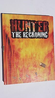 Hunter the Reckoning core rule book USED White Wolf Publishing