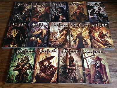 Priest 1-14 Manga book lot English vampire western fantasy horror Tokyopop