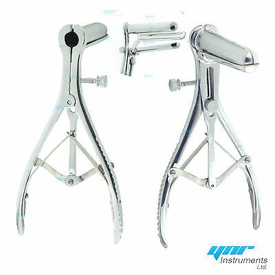 YNR Mathieu Anal Speculum 3 Prong Examination Diagnostic Equipment Surgical CE