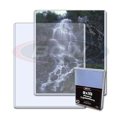 8 X 10 inch Toploader Photograph / Card Holder X 25 PACK