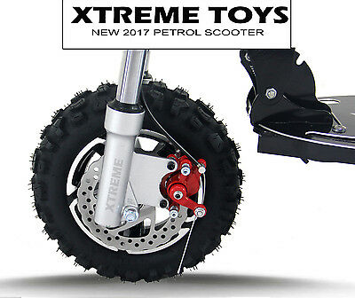 Xtreme 50cc Petrol Scooter - Childs Kids Adults Ride on Goped - New 2017