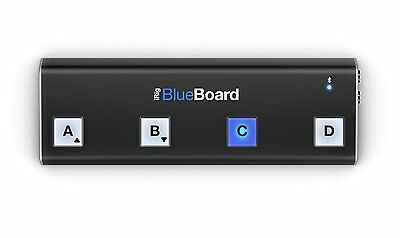 IK Multimedia iRig BlueBoard Wireless Bluetooth MIDI Pedalboard Floor Controller