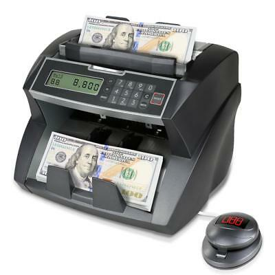Automatic Money Counting Banknote Bill Counterfeit Detector Counter Machine
