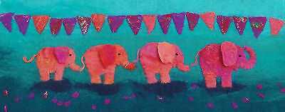 Elephant Picture Felt Kit with online tutorial
