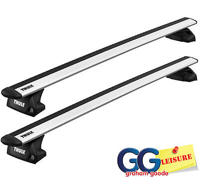 Thule 753 Square Roof Bars BMW 3-series 5 Dr Estate With Flush Rails 10-11