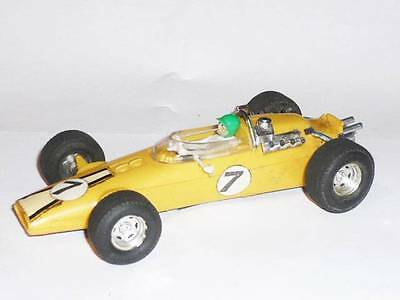 Vintage Triang 1960 Scalextric C6 Yellow Panther Spares Gp Slot Car Grand Prix
