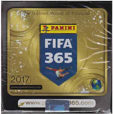 2016-17 Panini FIFA 365 Soccer 50ct Sticker Box