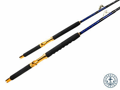 Set of 2 - Brand New 80lb Saltwater Roller - Fishing Rods -
