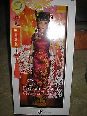 Festivals of the World Chinese New Year 2006 Barbie Doll Pink Label