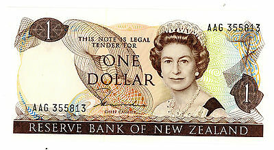 New Zealand … P-169a … 1 Dollar … ND(1981-5) … *UNC*