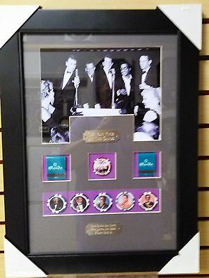 Rat Pack Picture Sands Casino Chip Matches Ready To Frame Frank Sinatra Dino