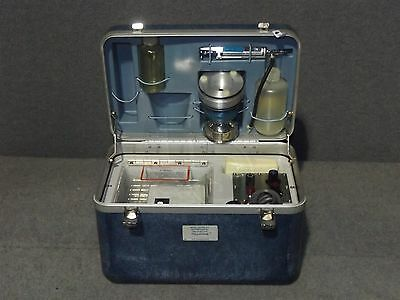 XX6300100 Millipore Portable Bacteriological Water Testing Kit 6665-00-682-4765