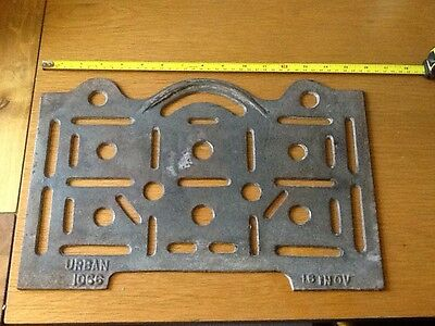 VICTORIAN ORIGINAL CAST IRON RANGE OVEN BAKE TRAY SHELF VGC 16 Inch