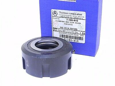 New Bison Clamping Nut/cap For Tg100 Collet Chuck 7-180-910