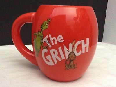 The Grinch Cindy Lou Who Coffee Mug How the Grinch Stole Christmas  Mint Cond