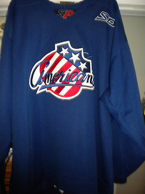 Ahl Rochester Americans  Game Worn Practice  Hockey Jersey