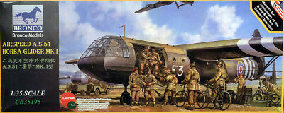 Airspeed AS.51 Horsa Glider Mk.I Flugzeug 1:35 Model Kit Bronco Models CB35195