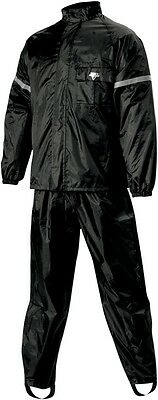 Nelson Rigg WP-8000 Weather Pro two piece rain suit size medium WP8000BLK02-MD