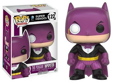 Funko - POP Heroes - ImPOPster - Batman / Penguin #122