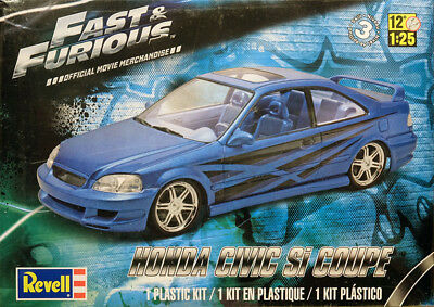 Honda Civic Si Coupe Fast and Furious Bausatz 1:25 Model Kit Revell & 4331