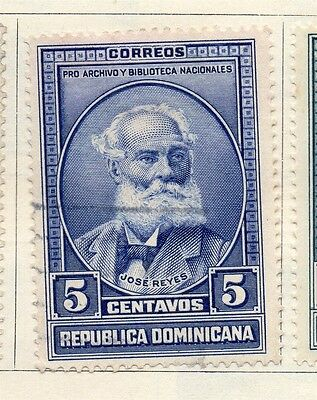 Dominican Republic 1936 Early Issue Fine Used 5c. 104037