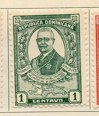 Dominican Republic 1929 Early Issue Fine Mint Hinged 1c. 104042