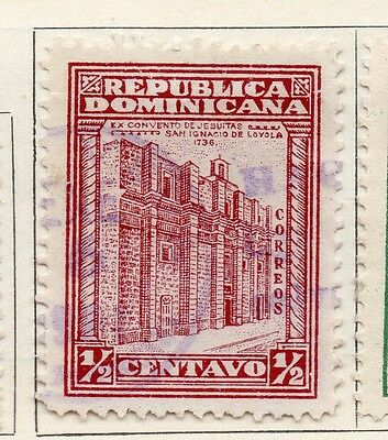Dominican Republic 1930 Early Issue Fine Used 1/2c. 104050