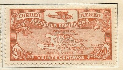 Dominican Republic 1930 Early Issue Fine Mint Hinged 20c. 104057