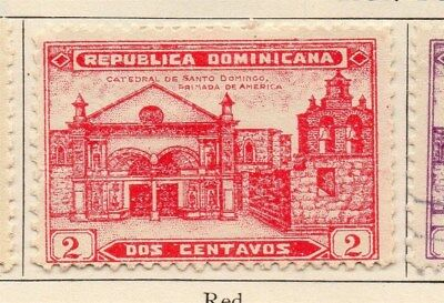 Dominican Republic 1931 Early Issue Fine Mint Hinged 2c. 104063