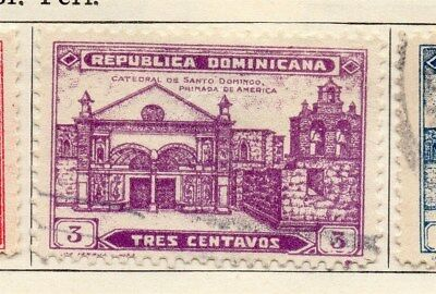 Dominican Republic 1931 Early Issue Fine Used 3c. 104064